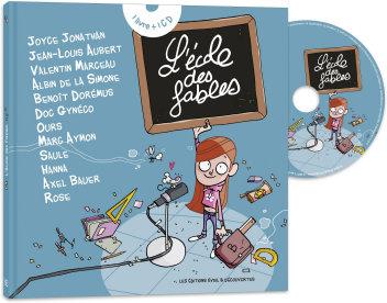 L'école des fables - Livre CD