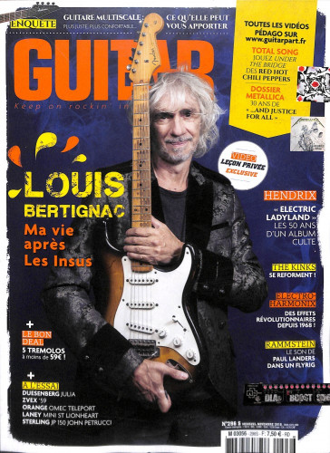 Guitar Part N°296 Novembre 2018