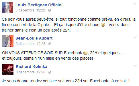 louis bertignac accueil facebook