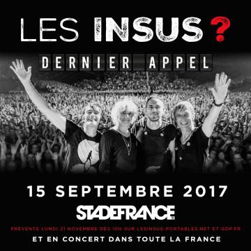 Les Insus - Stade de France 2017