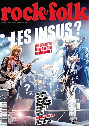 Rock & Folk #593 - Janvier 2017