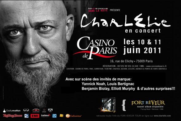 CharlElie Couture - Casino de Paris - Juin 2011
